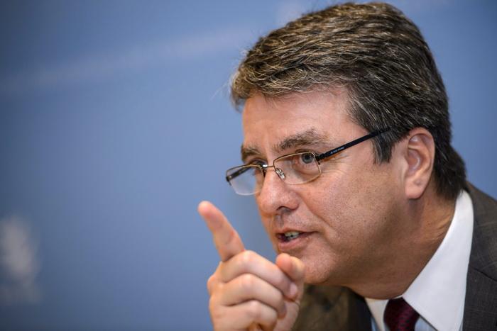 Новым главой ВТО стал бразилец Роберто Азеведо. Фото: FABRICE COFFRINI/AFP/Getty Images