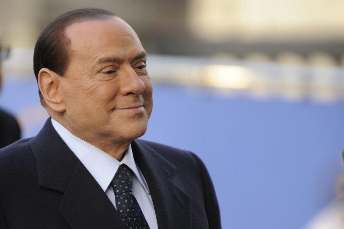Сильвио Берлускони. Фото: JOHN THYS/AFP/GettyImages