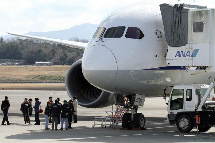 Boeing-787. Фото: JIJI PRESS/AFP/GettyImages