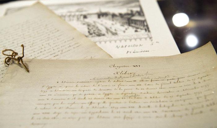 Секретное послание Наполеона о взрыве Кремля продано на аукционе. Фото: BERTRAND LANGLOIS/AFP/GettyImages