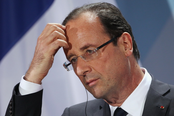 Президент Олланд теряет доверие французского народа. Фото: Sean Gallup/Getty Images