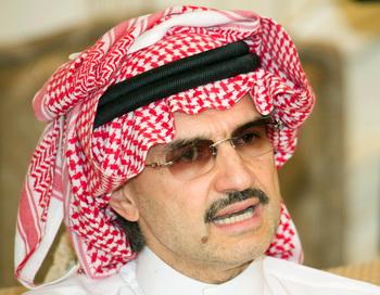 Саудовский принц Аль-Валид бин Талаль. Фото: YASSER AL-ZAYYAT/AFP/Getty Images