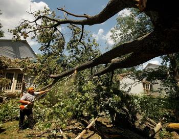 В США по восточному побережью пронёсся шторм. Фото: Chip Somodevilla/Getty Images