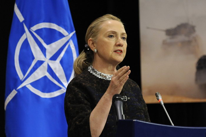 Хиллари Клинтон. Фото: JOHN THYS/AFP/GettyImages