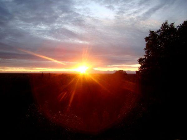 Рассвет над Аляской. Фото: Вера МЕССЕРА/Великая Эпоха (The Epoch Times)