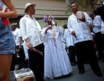 Празднование Дня Пуэрто-Рико в США. Фото: Yana Paskova/Getty Images