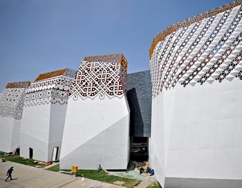 Российский павильон на выставке ЭКСПО-2010 в Шанхае. Фото: PHILIPPE LOPEZ/AFP/Getty Images