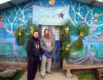 Клоун Иван Прадо (справа). Фото с сайта anosaterra.org
