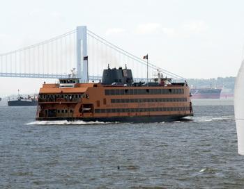 Паром компании Staten Island Ferry. Фото: DON EMMERT/AFP/Getty Images