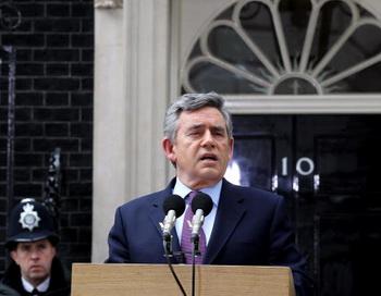 Премьер-министр Британии Гордон Браун. Фото: Matt Cardy/Getty Images