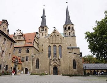 Собор в Мерзебурге. Фото с сайта mdr.de