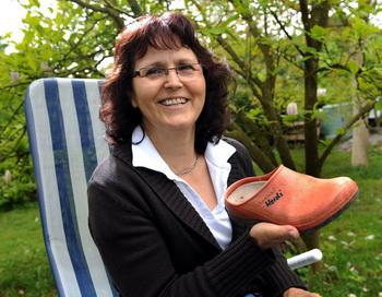 Немецкая обувь пришлась по душе лисе-воровке. Фото с сайта welt.de