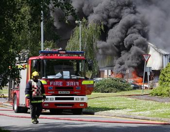 Самая стрессовая работа - у пожарного. Фото: Christopher Furlong/Getty Images