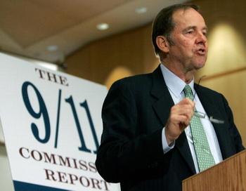 Томас Кин, бывший председатель комиссии по расследованию терактов 11 сентября 2001 года. Фото: Mark Wilson/Getty Images