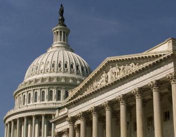 Здание Сената США. Фото: Mark Wilson/Getty Images