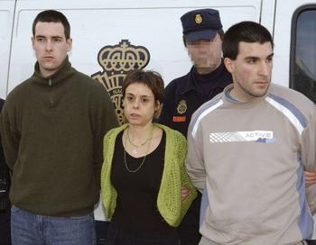Арестованные баскские боевики. Фото: -/AFP/Getty Images