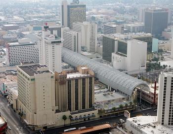 Вид на улицу Лас-Вегас Стрип. Фото: Ethan Miller/Getty Images