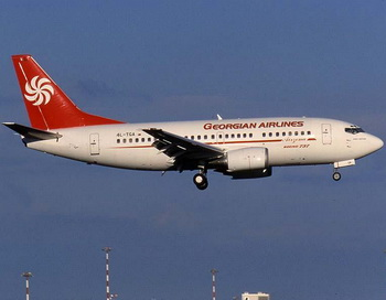 Лайнер компании Georgian Airways. Фото с сайта luftfahrt.net