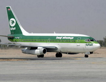 Лайнер Boeing 737 иракской авиакомпании Iraqi Airways. Фото: QASSEM ZEIN/AFP/Getty Images