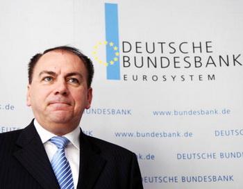 Президент Центробанка Германии Аксель Вебер. Фото: THOMAS LOHNES/AFP/Getty Images