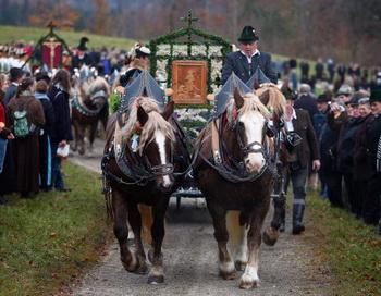 Традиционный парад в Баварии. Фото: Johannes Simon/Getty Images