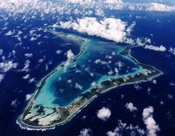 На архипелаге Чагос Британия планирует создать морской заповедник. Фото с сайта ekosso.com
