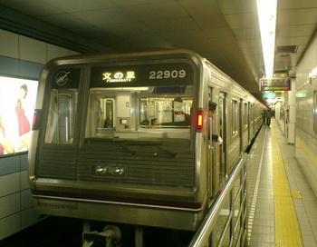 Вид станции метро в Осака. Фото с сайта way2go.ru