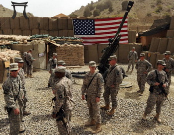Солдаты армии США в Афганистане. Фото: MASSOUD HOSSAINI/AFP/Getty Images