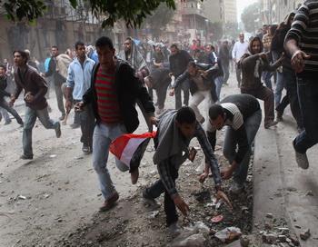 Египетский журналист погиб от выстрела. Фото: John Moore/Getty Images