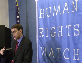 Международная правозащитная организация Human Rights Watch. Фото: Nicholas Kamm/AFP/Getty Images