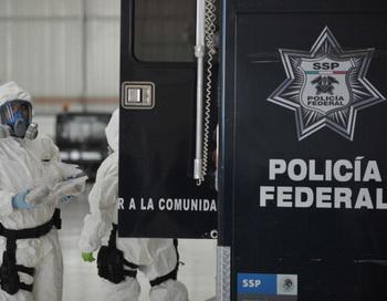 Мексиканская полиция. Фото: Johan Ordonez/AFP/Getty Images
