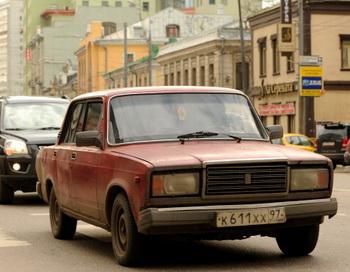 «Автоваз» окончательно решил прекратить выпуск классической модели Lada 2107. Фото: Kirill Kuopyavrsev/AFP/Getty Images