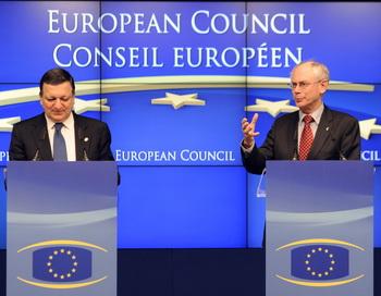 В среду, 28 марта, ЕС объявил о создании единого центра для борьбы с преступлениями в Интернете. Еврокомиссия видит большую угрозу для государств-членов ЕС и их граждан со стороны злоумышленников.Фото: Eric Feferberg/AFP/Getty Images