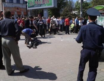 Уголовные дела о взрывах в Днепропетровске объединены в одно производство. Фото: AFP/Getty Images