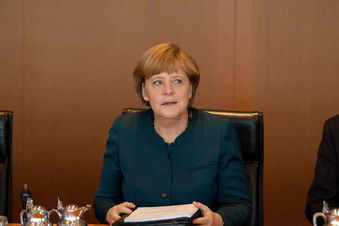 Ангела Меркель остаётся самой влиятельной женщиной в мире. Фото: JOHANNES EISELE/AFP/Getty Images