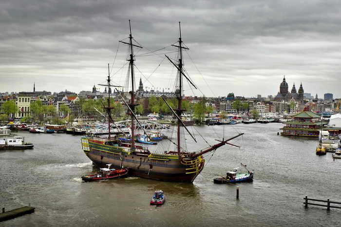 Голландия. Фото: Koen van Weel/AFP/Getty Images
