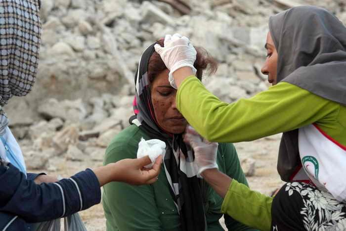 Число жертв землетрясения в Иране возросло до 37 человек. Фото: MOHAMMAD FATEMI/AFP/Getty Images