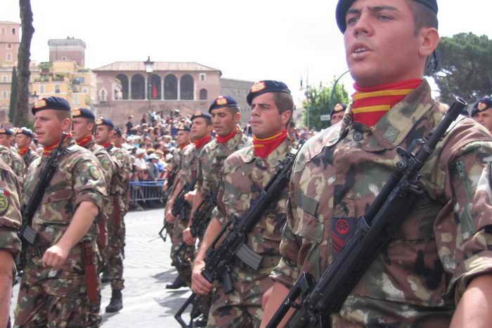 Морская пехота Италии. Фото с сайта marinebadges.com