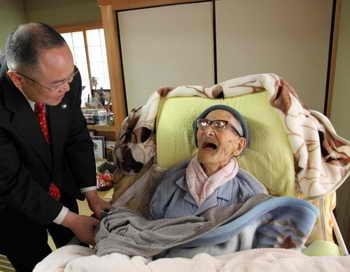 Самый старейший человек в мире, житель Японии Дзироэмон Кимура, умер в среду в возрасте 116 лет. Фото: Kyotango City Government via Getty Images