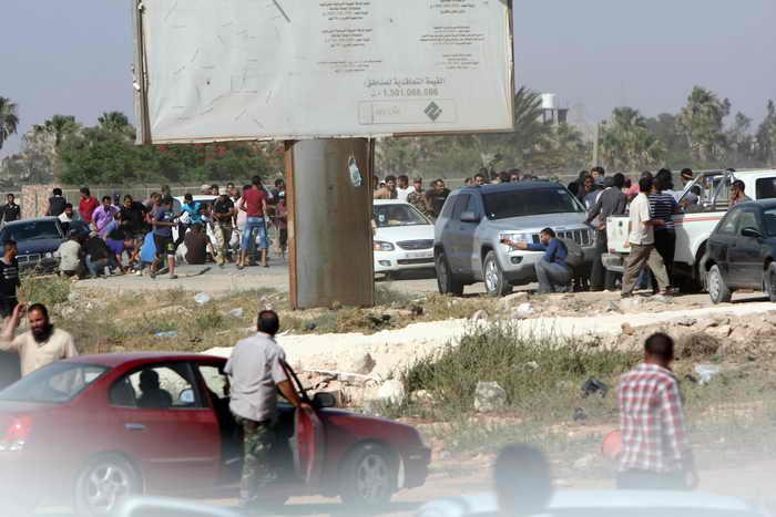 В Ливии возросло число жертв вооружённого столкновения. Фото: ABDULLAH DOMA/AFP/Getty Images