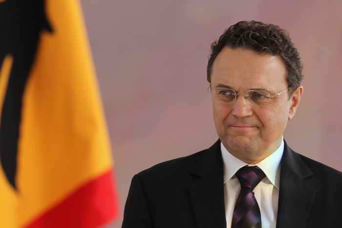 Министр внутренних дел Германии Ханс-Петер-Фридрих. Фото: Sean Gallup/Getty Images