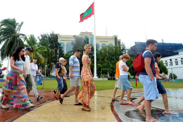 Всемирный день туризма будет отмечаться на Мальдивах. Фото: LAKRUWAN WANNIARACHCHI/AFP/Getty Images
