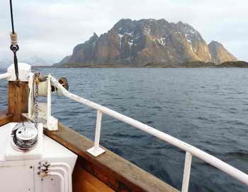 Норвежском море. Фото: NINA LARSON/AFP/Getty Images