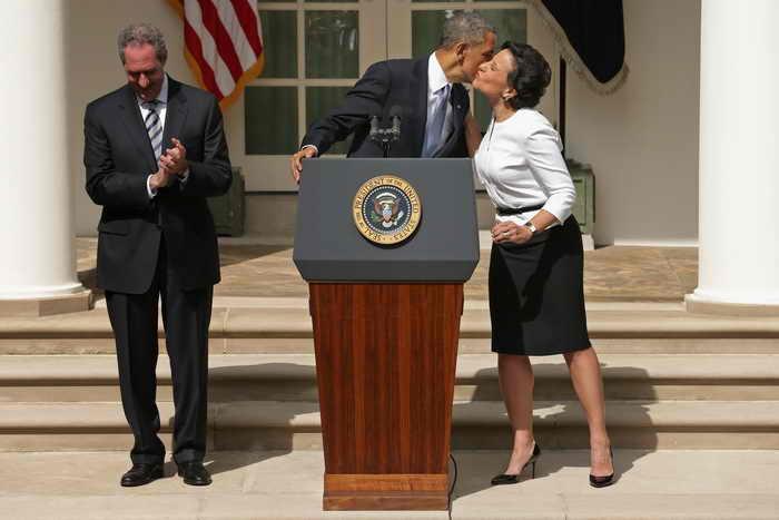Барак Обама представил нового министра торговли – миллиардера Пенни Прицкер. Фото: Chip Somodevilla/Getty Images