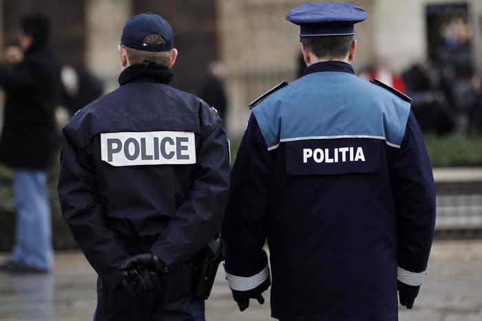 Полиция Румынии. Фото: ALEXANDER KLEIN/AFP/Getty Images