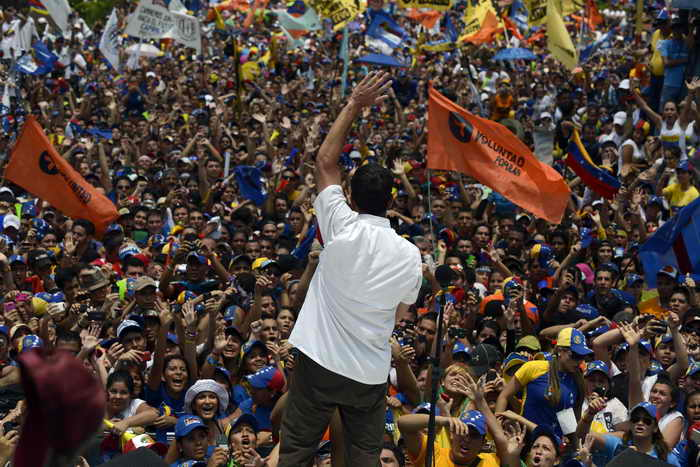 В Венесуэле стартует избирательная кампания. Фото: JUAN BARRETO/AFP/Getty Images