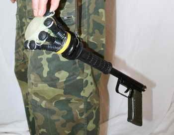 Украинский сеткомёт «Штурм» пакует хулиганов в сетку. Фото с сайта kaskad-s.com