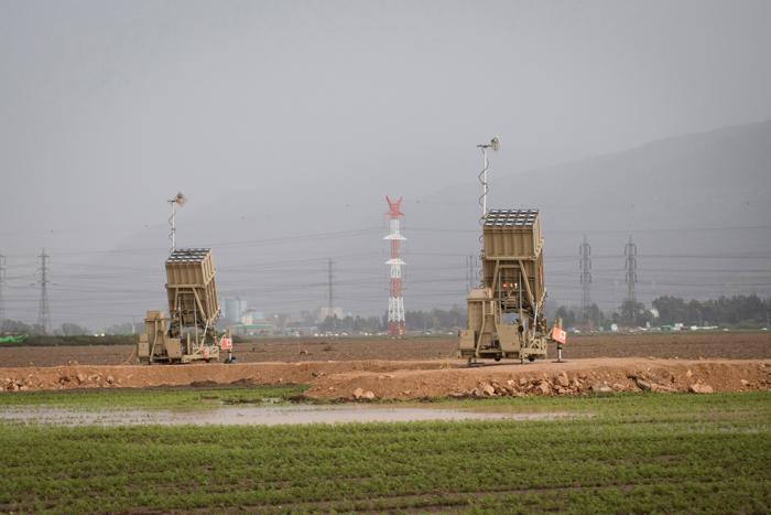 Израиль в состоянии повышенной готовности к ответному удару, 31 января 2013 года. Фото: Oren Ziv/Getty Images