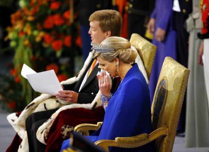 Официальная церемония приведения короля к присяге состоялась в Нидерландах. Фото: Frank Van Beek - Pool/Getty Images