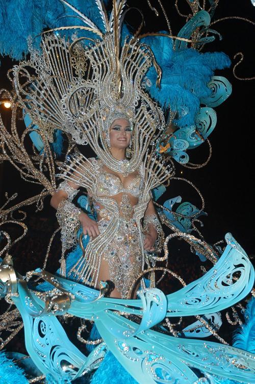 Карнавал Лас-Пальмас-2013 в Испании, 1 февраля 2013 года. Фото: Jorge Rey / Getty Images
